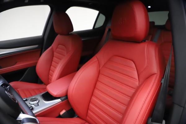 New 2021 Alfa Romeo Stelvio Ti Sport Q4 for sale $57,200 at Alfa Romeo of Westport in Westport CT 06880 16