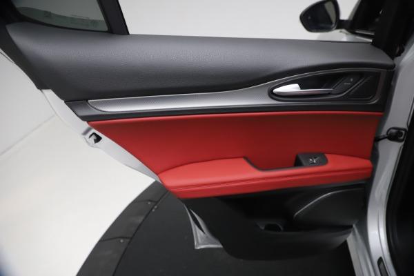 New 2021 Alfa Romeo Stelvio Ti Sport Q4 for sale $57,200 at Alfa Romeo of Westport in Westport CT 06880 20