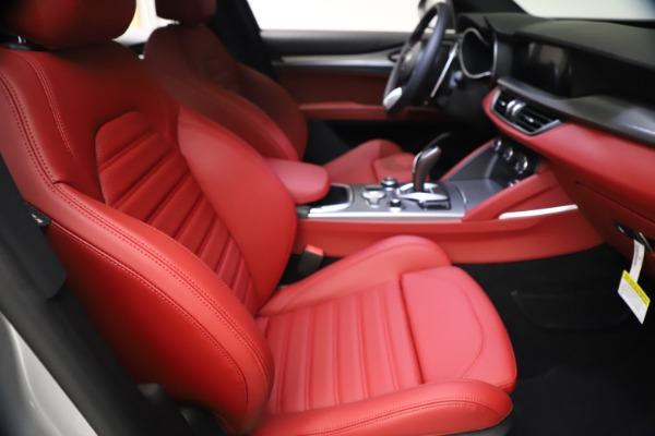 New 2021 Alfa Romeo Stelvio Ti Sport Q4 for sale $57,200 at Alfa Romeo of Westport in Westport CT 06880 22