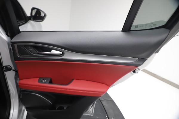 New 2021 Alfa Romeo Stelvio Ti Sport Q4 for sale $57,200 at Alfa Romeo of Westport in Westport CT 06880 26