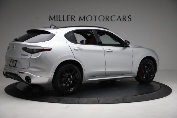 New 2021 Alfa Romeo Stelvio Ti Sport Q4 for sale $57,200 at Alfa Romeo of Westport in Westport CT 06880 8