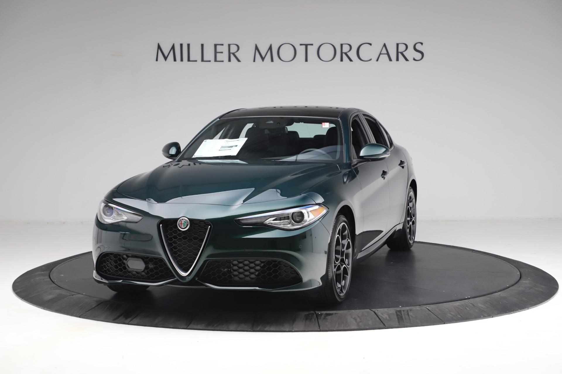 New 2021 Alfa Romeo Giulia Ti Sport Q4 for sale $53,050 at Alfa Romeo of Westport in Westport CT 06880 1