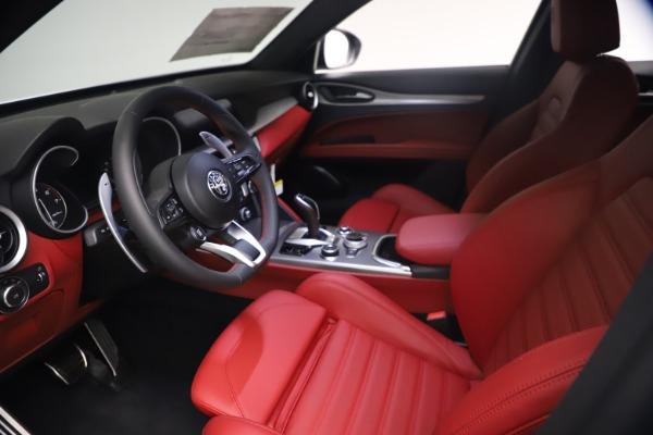 New 2021 Alfa Romeo Stelvio Ti Sport Q4 for sale $54,095 at Alfa Romeo of Westport in Westport CT 06880 14