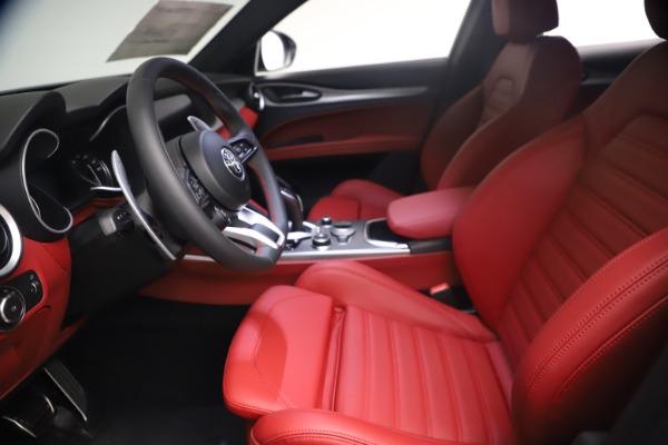 New 2021 Alfa Romeo Stelvio Ti Sport Q4 for sale $54,095 at Alfa Romeo of Westport in Westport CT 06880 15