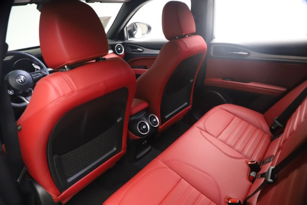 New 2021 Alfa Romeo Stelvio Ti Sport Q4 for sale $54,095 at Alfa Romeo of Westport in Westport CT 06880 18