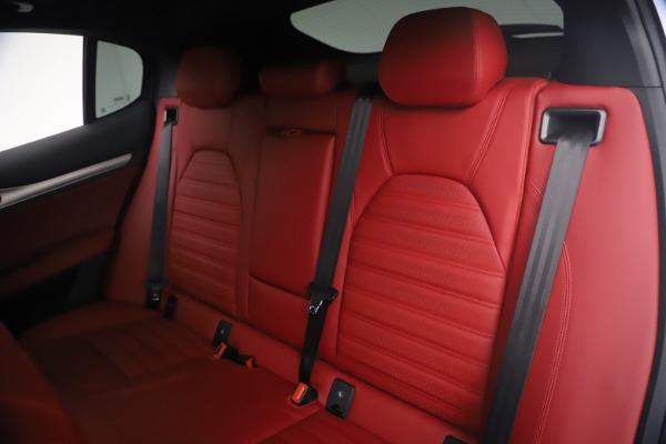 New 2021 Alfa Romeo Stelvio Ti Sport Q4 for sale $54,095 at Alfa Romeo of Westport in Westport CT 06880 20