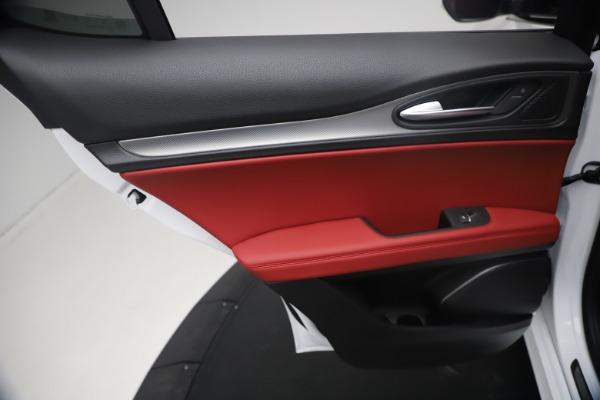 New 2021 Alfa Romeo Stelvio Ti Sport Q4 for sale $54,095 at Alfa Romeo of Westport in Westport CT 06880 21