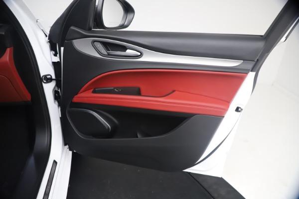 New 2021 Alfa Romeo Stelvio Ti Sport Q4 for sale $54,095 at Alfa Romeo of Westport in Westport CT 06880 24