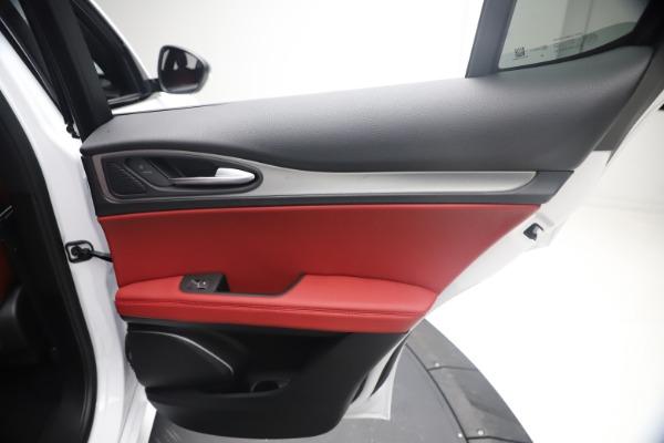 New 2021 Alfa Romeo Stelvio Ti Sport Q4 for sale $54,095 at Alfa Romeo of Westport in Westport CT 06880 27