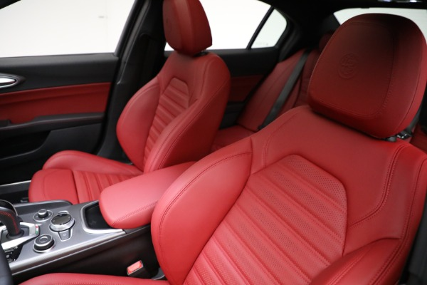 New 2021 Alfa Romeo Giulia Ti Sport Q4 for sale $54,050 at Alfa Romeo of Westport in Westport CT 06880 15