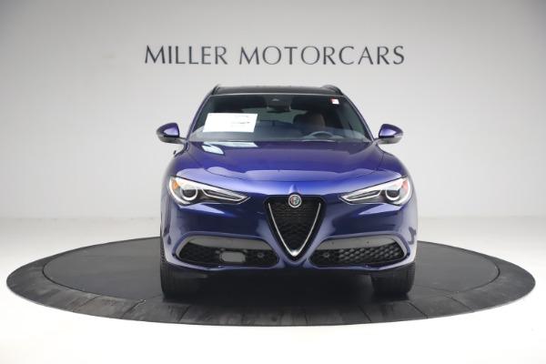 New 2021 Alfa Romeo Stelvio Ti Sport Q4 for sale $55,700 at Alfa Romeo of Westport in Westport CT 06880 12
