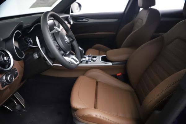 New 2021 Alfa Romeo Stelvio Ti Sport Q4 for sale $55,700 at Alfa Romeo of Westport in Westport CT 06880 13