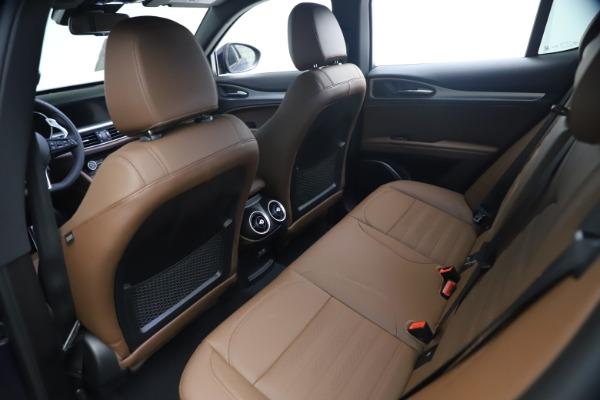 New 2021 Alfa Romeo Stelvio Ti Sport Q4 for sale $55,700 at Alfa Romeo of Westport in Westport CT 06880 16