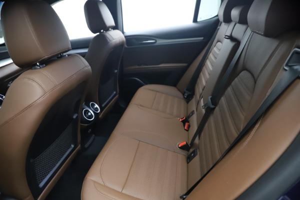 New 2021 Alfa Romeo Stelvio Ti Sport Q4 for sale $55,700 at Alfa Romeo of Westport in Westport CT 06880 17