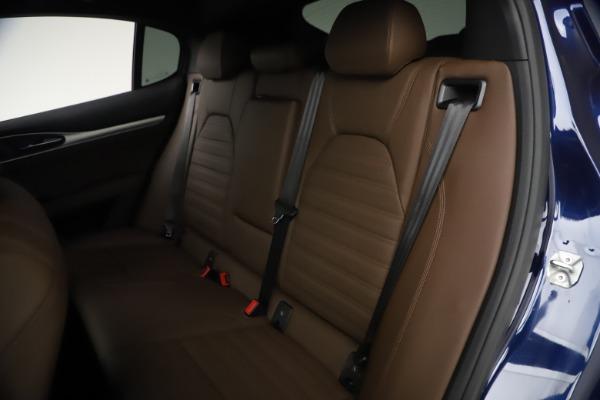 New 2021 Alfa Romeo Stelvio Ti Sport Q4 for sale $55,700 at Alfa Romeo of Westport in Westport CT 06880 18