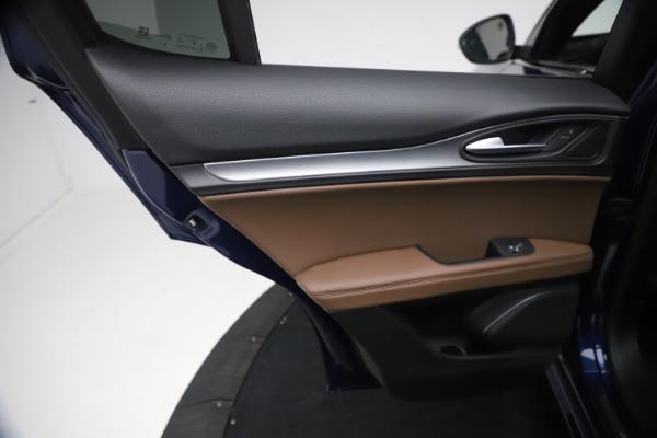 New 2021 Alfa Romeo Stelvio Ti Sport Q4 for sale $55,700 at Alfa Romeo of Westport in Westport CT 06880 19