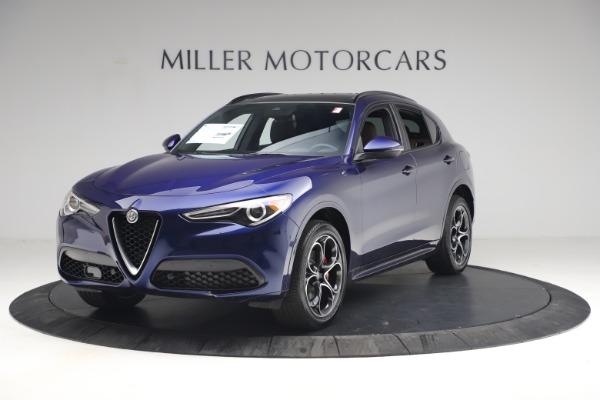 New 2021 Alfa Romeo Stelvio Ti Sport Q4 for sale $55,700 at Alfa Romeo of Westport in Westport CT 06880 2