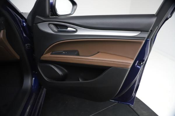 New 2021 Alfa Romeo Stelvio Ti Sport Q4 for sale $55,700 at Alfa Romeo of Westport in Westport CT 06880 22