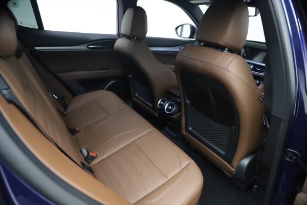 New 2021 Alfa Romeo Stelvio Ti Sport Q4 for sale $55,700 at Alfa Romeo of Westport in Westport CT 06880 23