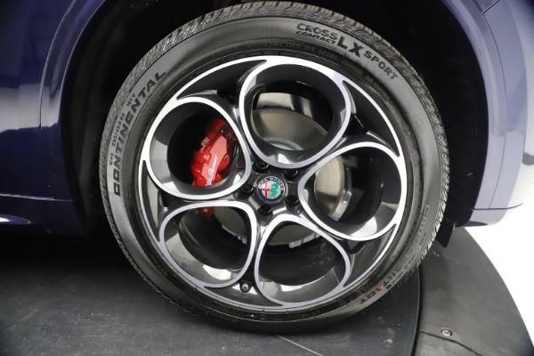 New 2021 Alfa Romeo Stelvio Ti Sport Q4 for sale $55,700 at Alfa Romeo of Westport in Westport CT 06880 26