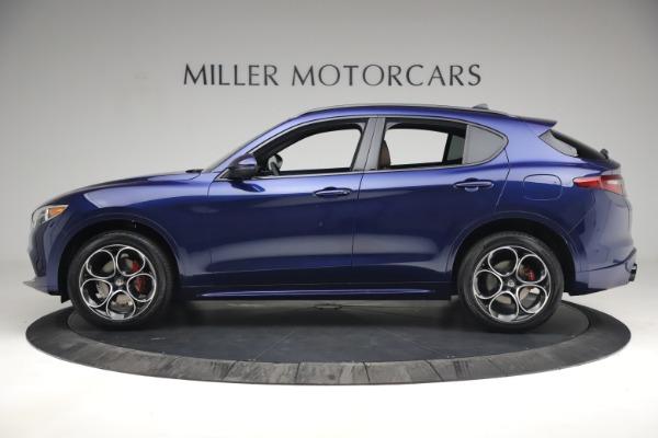 New 2021 Alfa Romeo Stelvio Ti Sport Q4 for sale $55,700 at Alfa Romeo of Westport in Westport CT 06880 3
