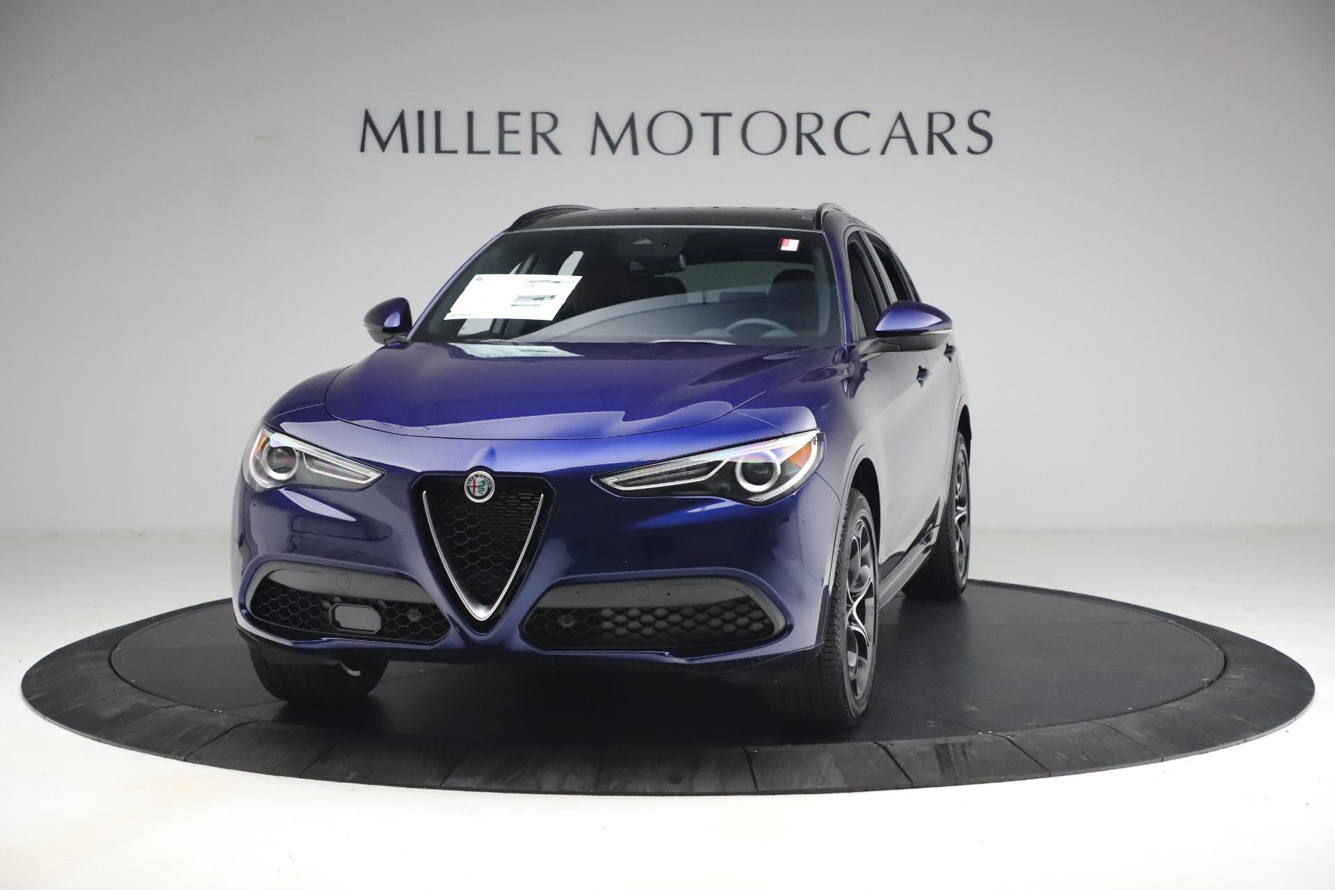 New 2021 Alfa Romeo Stelvio Ti Sport Q4 for sale $55,700 at Alfa Romeo of Westport in Westport CT 06880 1