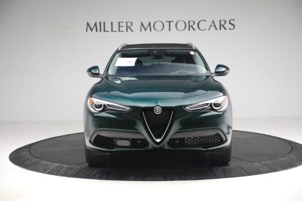 New 2021 Alfa Romeo Stelvio Q4 for sale $50,445 at Alfa Romeo of Westport in Westport CT 06880 14