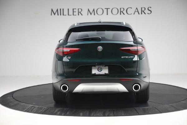 New 2021 Alfa Romeo Stelvio Q4 for sale $50,445 at Alfa Romeo of Westport in Westport CT 06880 6