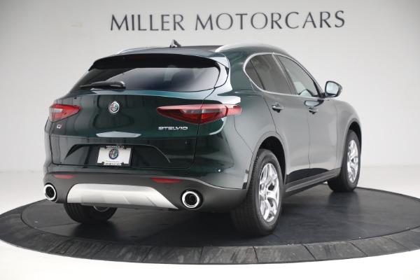 New 2021 Alfa Romeo Stelvio Q4 for sale $50,445 at Alfa Romeo of Westport in Westport CT 06880 7