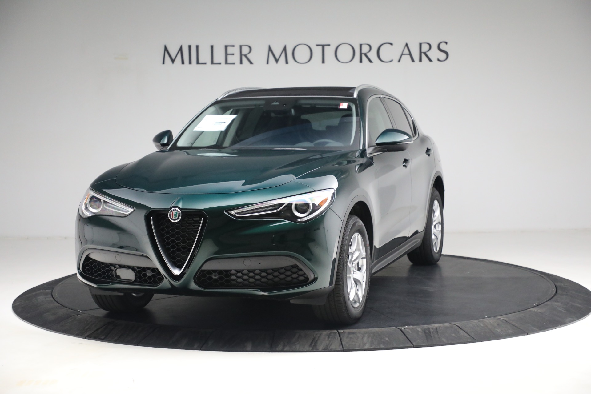 New 2021 Alfa Romeo Stelvio Q4 for sale $50,445 at Alfa Romeo of Westport in Westport CT 06880 1