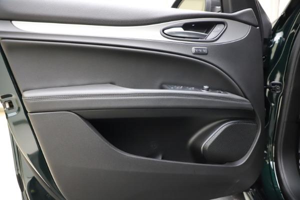 New 2021 Alfa Romeo Stelvio Ti Sport Q4 for sale $57,200 at Alfa Romeo of Westport in Westport CT 06880 18