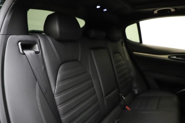 New 2021 Alfa Romeo Stelvio Ti Sport Q4 for sale $57,200 at Alfa Romeo of Westport in Westport CT 06880 27