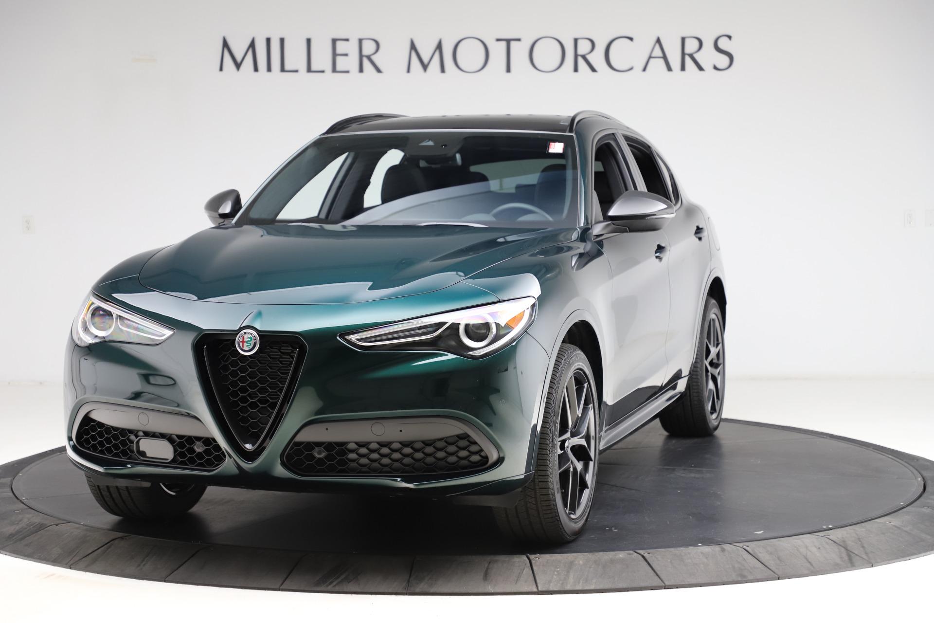 New 2021 Alfa Romeo Stelvio Ti Sport Q4 for sale $57,200 at Alfa Romeo of Westport in Westport CT 06880 1