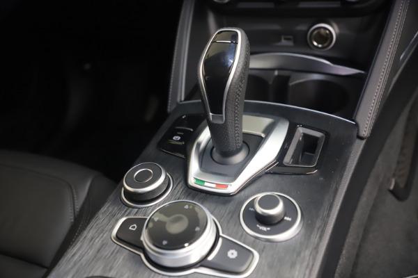 New 2021 Alfa Romeo Stelvio Q4 for sale $49,945 at Alfa Romeo of Westport in Westport CT 06880 18