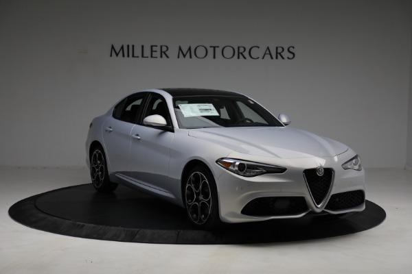 New 2021 Alfa Romeo Giulia Ti Sport Q4 for sale $53,050 at Alfa Romeo of Westport in Westport CT 06880 10
