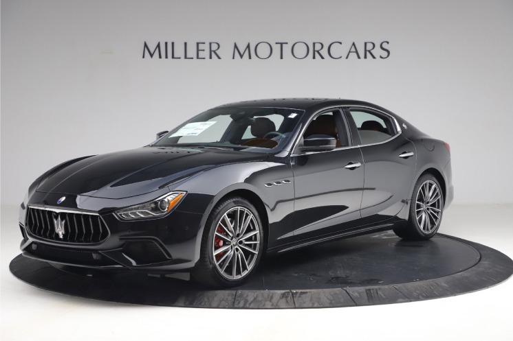 New 2021 Maserati Ghibli S Q4 for sale $89,775 at Alfa Romeo of Westport in Westport CT 06880 1