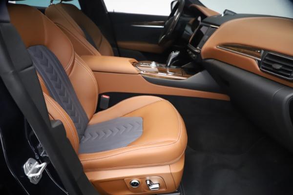 New 2021 Maserati Levante Q4 GranLusso for sale $93,385 at Alfa Romeo of Westport in Westport CT 06880 22