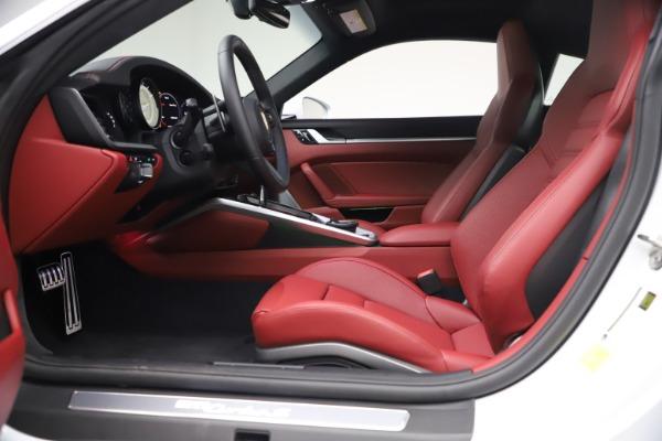 Used 2021 Porsche 911 Turbo S for sale Sold at Alfa Romeo of Westport in Westport CT 06880 14