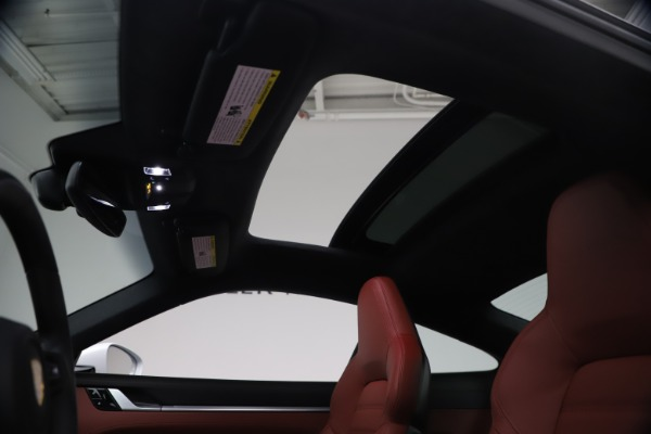 Used 2021 Porsche 911 Turbo S for sale Sold at Alfa Romeo of Westport in Westport CT 06880 19