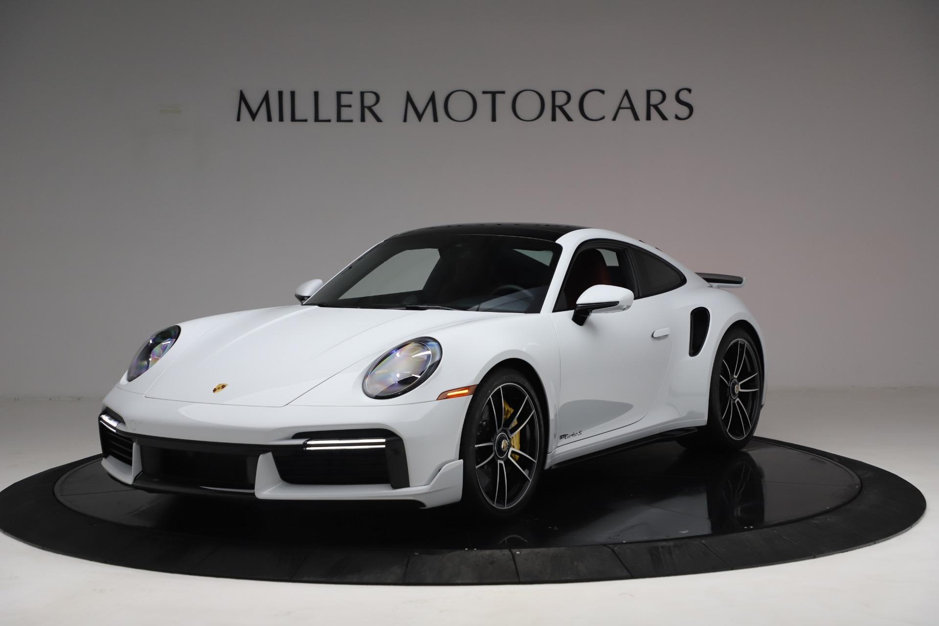 Used 2021 Porsche 911 Turbo S for sale Sold at Alfa Romeo of Westport in Westport CT 06880 1