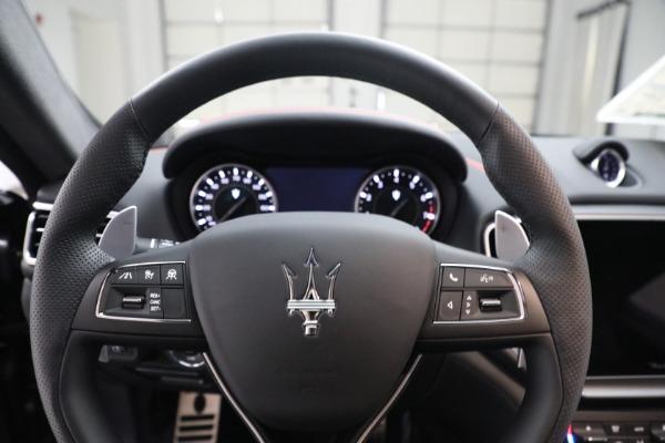 New 2021 Maserati Ghibli S Q4 GranSport for sale $100,635 at Alfa Romeo of Westport in Westport CT 06880 16