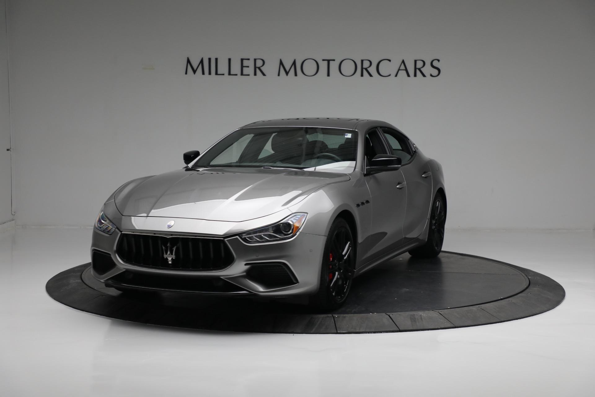 New 2021 Maserati Ghibli S Q4 for sale $90,075 at Alfa Romeo of Westport in Westport CT 06880 1