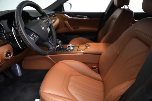 New 2021 Maserati Quattroporte S Q4 GranLusso for sale $125,149 at Alfa Romeo of Westport in Westport CT 06880 15