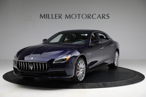 New 2021 Maserati Quattroporte S Q4 GranLusso for sale $125,149 at Alfa Romeo of Westport in Westport CT 06880 2