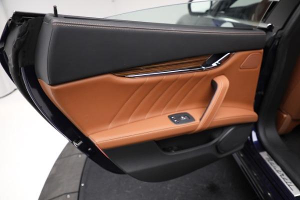 New 2021 Maserati Quattroporte S Q4 GranLusso for sale $125,149 at Alfa Romeo of Westport in Westport CT 06880 21