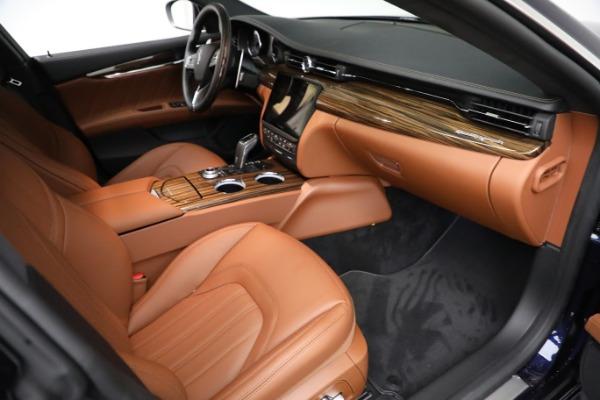 New 2021 Maserati Quattroporte S Q4 GranLusso for sale $125,149 at Alfa Romeo of Westport in Westport CT 06880 22