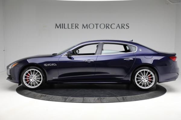 New 2021 Maserati Quattroporte S Q4 GranLusso for sale $125,149 at Alfa Romeo of Westport in Westport CT 06880 3