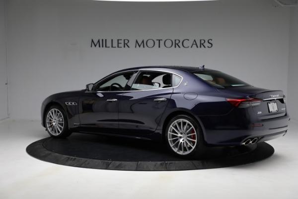 New 2021 Maserati Quattroporte S Q4 GranLusso for sale $125,149 at Alfa Romeo of Westport in Westport CT 06880 5