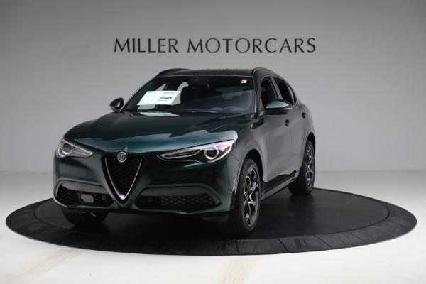 New 2021 Alfa Romeo Stelvio Ti Sport Q4 for sale $58,500 at Alfa Romeo of Westport in Westport CT 06880 1