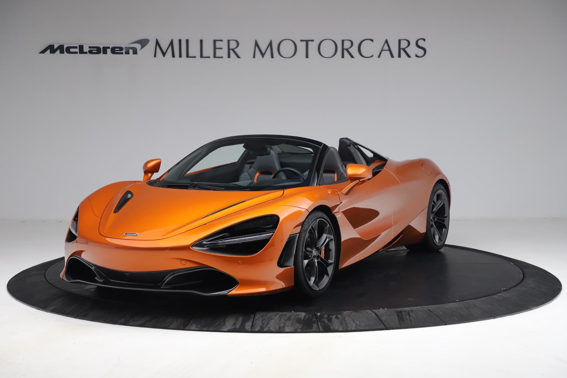 Used 2020 McLaren 720S Spider for sale $335,900 at Alfa Romeo of Westport in Westport CT 06880 1